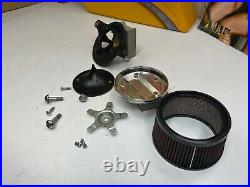 17-20 Harley S&S Stealth Milwaukee Eight M8 Air Cleaner Breather Filter