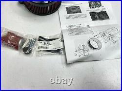 Harley S&S Stealth Air Cleaner Kit With Air Cover for'17-'20 M8 170-0394A