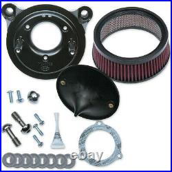 Kit Filtro Aria S&s Super Stock Stealth Air Cleaners Harley Davidson Flhr 08