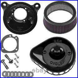 S And S Cycle Air Clnr Blk Mtd 01-17tc 170-0442