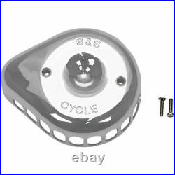 S&S 1014-0272 Cycle Mini Tear Drop Stealth Air Cleaner Cover Harley Model Chrome