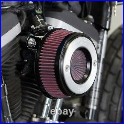 S&S Brushed Aluminum Air Stinger Stealth Air Cleaner Kit XL Sportster'07-UP