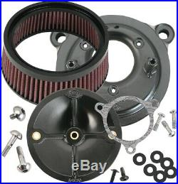 S & S Cycle 170-0061 Stealth Air Cleaner Kit for Stock Fuel System