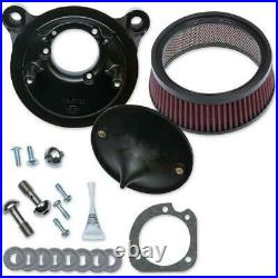 S&S Cycle 170-0300B Super Stock Stealth Air Cleaner Kit for Stock Engines