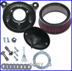 S & S Cycle 170-0301B Super Stock Stealth Air Cleaner Kit