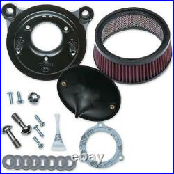 S&S Cycle 170-0301B Super Stock Stealth Air Cleaner Kit for Stock Engines