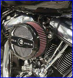 S&S Cycle 170-0354 Stealth Air Cleaner Kit for Milwaukee-Eight Engines plus Chr