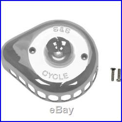 S&S Cycle 170-0366 Stealth for Mini Tear-Drop Air Cleaner Cover Chrome