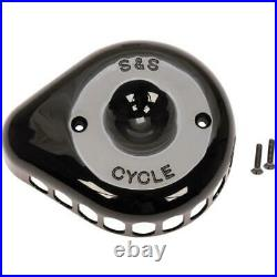 S&S Cycle 170-0367 Stealth for Mini Tear-Drop Air Cleaner Cover Black