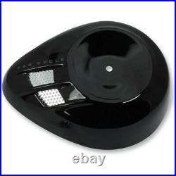 S&S Cycle 170-0396 Stealth Air Cleaner Cover Air Stream Black