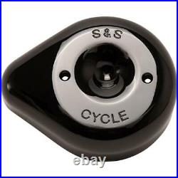 S&S Cycle 170-0531 Stealth Air Cleaner Covers Teardrop Gloss Black