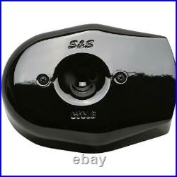 S&S Cycle 170-0593 Stealth Tribute Air Cleaner Cover Gloss Black