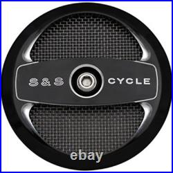 S&S Cycle Air 1 Stealth Air Cleaner Cover 170-0214 HARLEY-DAVIDSON FLD etc