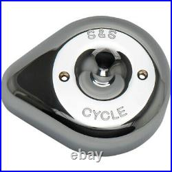 S&S Cycle Cover Air Cleaner Stealth (Chrome) 170-0530