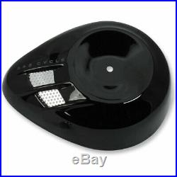 S&S Cycle Gloss Black Air Stream Stealth Air Cleaner Cover Harley Models