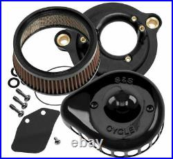 S & S Cycle Mini Stealth Air Cleaner Kits for Harley-Davidson 170-0436