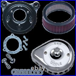 S & S Cycle Mini Stealth Air Cleaner Kits for Harley-Davidson 170-0437