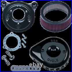 S & S Cycle Mini Stealth Air Cleaner Kits for Harley-Davidson 170-0438