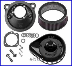 S & S Cycle Mini Stealth Air Cleaner Kits for Harley-Davidson 170-0440
