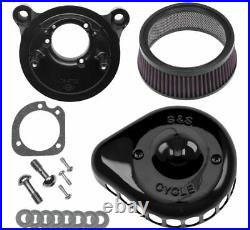 S & S Cycle Mini Stealth Air Cleaner Kits for Harley-Davidson 170-0450
