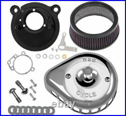 S & S Cycle Mini Stealth Air Cleaner Kits for Harley-Davidson HP 170-0447