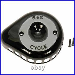 S&S Cycle Mini Tear Drop Stealth Air Cleaner Cover Harley Models Gloss Black