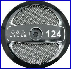 S&S Cycle Stealth Air Cleaner Cover Black 111 Displacement 170-0319