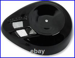 S & S Cycle Stealth Air Cleaner Covers Black Air Stream 170-0396