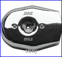 S & S Cycle Stealth Air Cleaner Covers Chrome Tribute 502265