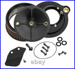 S & S Cycle Stealth Air Cleaner FLH, FLT 17-20 Stock EFI, Throttle by Wire