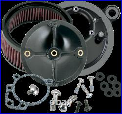 S&S Cycle Stealth Air Cleaner Kit -Stock Fuel System FLH/FLT/FXST/FLST/FXD 93-99