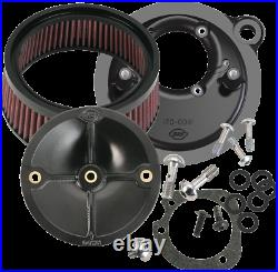 S & S Cycle Stealth Air Cleaner Kit for Stock Fuel System Harley 170-0093