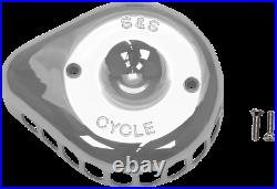 S & S Cycle Stealth Mini Teardrop Air Cleaner Covers 170-0367
