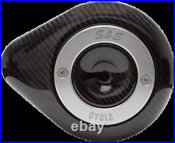 S & S Cycle Stealth Mini Teardrop Air Cleaner Covers 170-0501