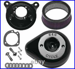 S & S Cycle Stealth Teardrop Air Cleaner Kits 170-0523