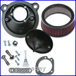 S & S Cycle Super Stock Stealth Air Cleaner Kit 170-0302B