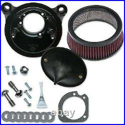 S&S Cycle Super Stock Stealth Air Cleaner Kit for Harley Twin Cam