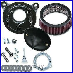S&S Cycle Super Stock Stealth Air Cleaner Kit for Touring 08-16 & Softails 16-17