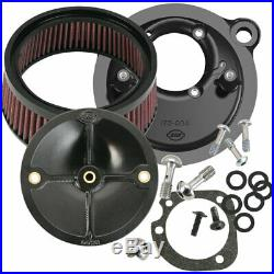 S&S Sportster Super Stock Stealth Air Cleaner 1991-06 Harley Sportster CV Carb