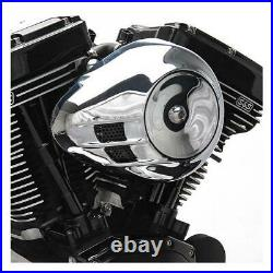 S&S Stealth, Airstream Teardrop Air Cleaner Kit For Harley-Davidson