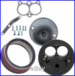 S&S Super Stock Stealth Air Cleaner Intake Kit Harley Street Rod 750 750A XG