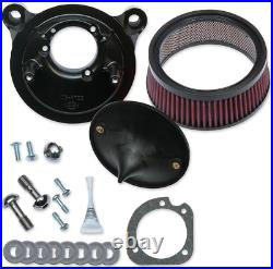 S&S Super Stock Stealth Air Cleaner Kit 170-0300B Harley Twin Cam EFI (01-17)