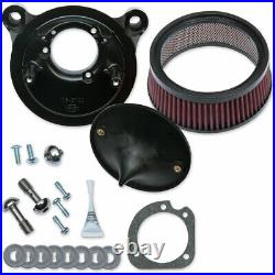 S&S Twin Cam Super Stock Stealth Air Cleaner 2001-17 Harley Twin Cam Stock EFI