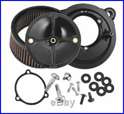 S and S Cycle Stealth Air Cleaner Kits for Throttle Hog Throttle Bodies 58mm