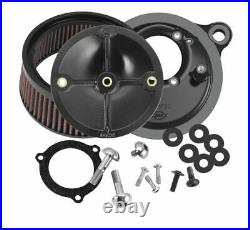 S and S Cycle Stealth Air Cleaner Kits for Throttle Hog Throttle Bodies 66mm